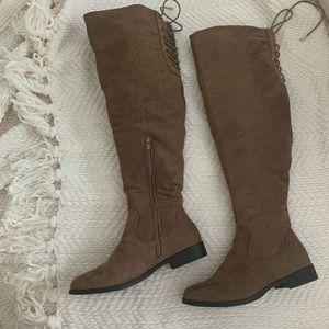 XOXO Trish 2 Knee Boots Size 6.5 New